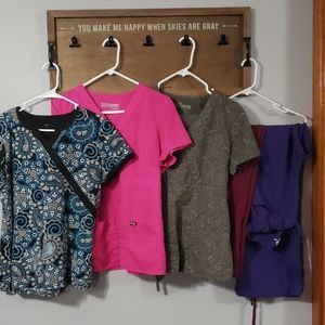 Womens scrub lot